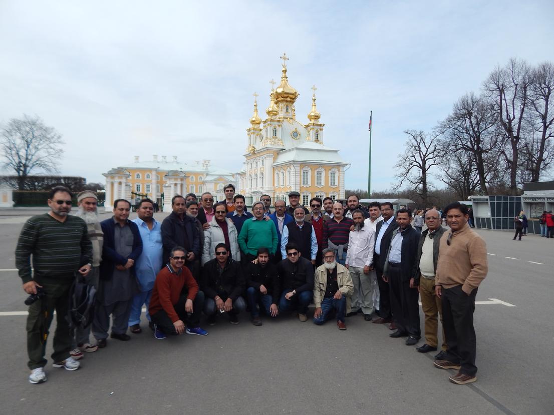 SAINT PETERSBURG (RUSSIA) – 2015