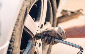 How to change a flat tire?