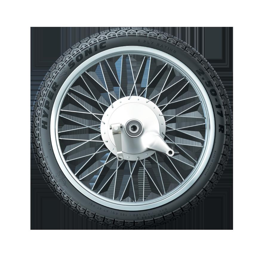 GTR TyreHYPER SONIC 125CC (R)