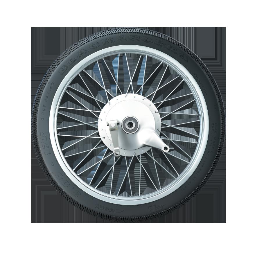 GTR TyreBLACK COBRA 125 CC